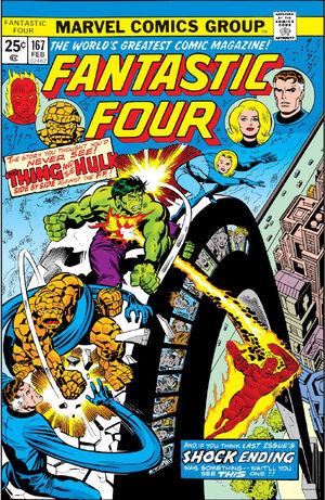 Fantastic Four Vol 1 167