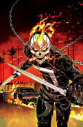 All-New Ghost Rider Vol 1 2 Smith Variant Textless
