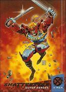 Gaveedra Seven (Mojoverse) from Ultra X-Men (Trading Cards) 1994 Set 001