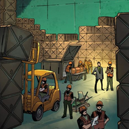 Qeng Enterprises (Earth-616) from All-New, All-Different Avengers Vol 1 1
