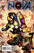 Nova Vol 4 34 Deadpool Variant