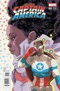 All-New Captain America Vol 1 5 Women of Marvel Variant