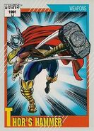 Mjolnir from Marvel Universe Cards Series II 0001