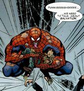 Marvel Universe Vs. The Punisher Vol 1 2 page 24 Peter Parker (Earth-TRN028)