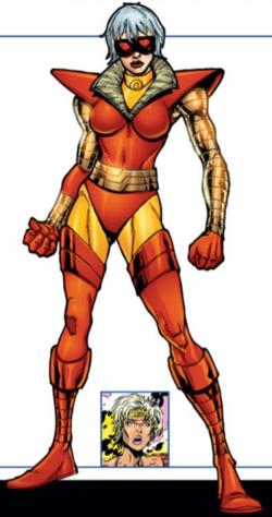 Siena Blaze (Earth-616) from X-Men Phoenix Force Handbook Vol 1 1