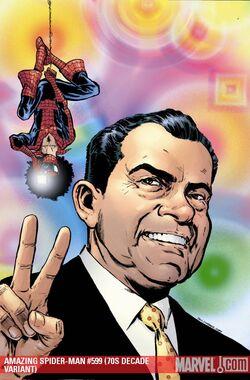 Amazing Spider-Man Vol 1 599 70s Decade Variant Textless