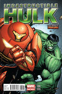 Indestructible Hulk Vol 1 6 Many Armors of Iron Man Variant