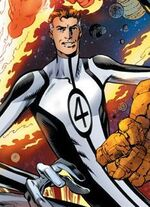 Reed Richards (Earth-616) from Fantastic Four Vol 4 1 cover
