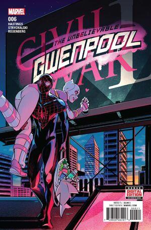 Unbelievable Gwenpool Vol 1 6