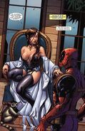 Beatrice Killcraven and Wade Wilson (Earth-616) from Prelude to Deadpool Corps Vol 1 4 0001