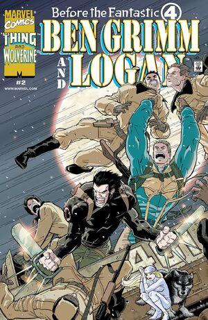 Before the Fantastic Four Ben Grimm and Logan Vol 1 2