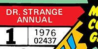 Doctor Strange Annual Vol 1
