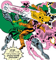Doctor Doom's Armor, Owen Reece, Victor von Doom (Earth-616) from Fantastic Four Vol 1 318