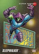 Sleepwalker (Earth-616) from Marvel Universe Cards Series III 0001