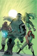 World War Hulk Gamma Corps Vol 1 1 Textless