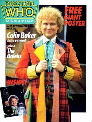 Doctor Who Magazine Vol 1 118