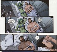 Gamora (Earth-616) and Anthony Stark (Earth-616) from Guardians of the Galaxy Vol 3 4 001