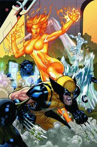 Secret Invasion X-Men Vol 1 4 Textless