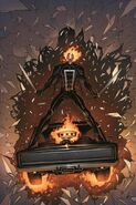 All-New Ghost Rider Vol 1 3 Texeira Variant Textless