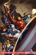 Avengers Invaders Vol 1 12 Eaglesham Textless