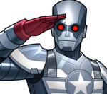 Captain America (Robot) (Earth-TRN562) from Marvel Avengers Academy 001