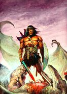 Savage Sword of Conan Vol 1 17 Textless
