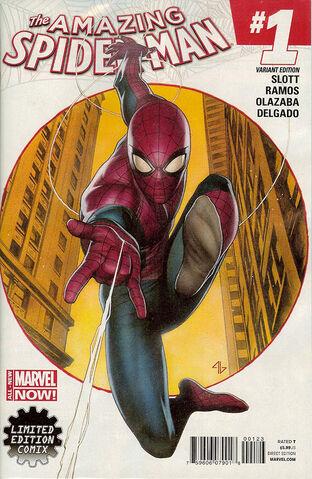 File:Amazing Spider-Man Vol 3 1 Granov Variant.jpg