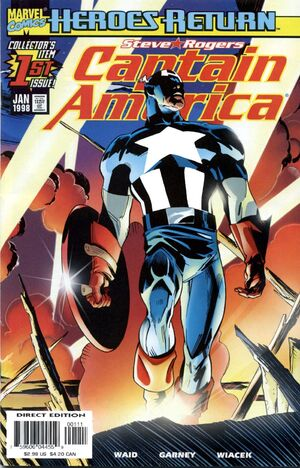 Captain America Vol 3 1