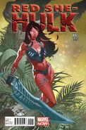 Red She-Hulk Vol 1 60 Stevens Variant