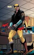 Wade Wilson (Earth-616) as Wolverine from Wolverines Vol 1 13