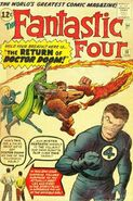 Fantastic Four Vol 1 10 Vintage
