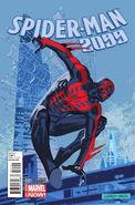Spider-Man 2099 Vol 2 1 Leonardi Variant