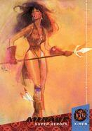 Danielle Moonstar (Earth-616) from 1994 Ultra X-Men (Trading Cards) 0001