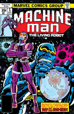 Machine Man Vol 1 5