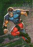 Henri Huang (Earth-928) from Marvel Masterpieces Trading Cards 1993 Set 0001
