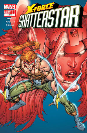 X-Force Shatterstar Vol 1 2