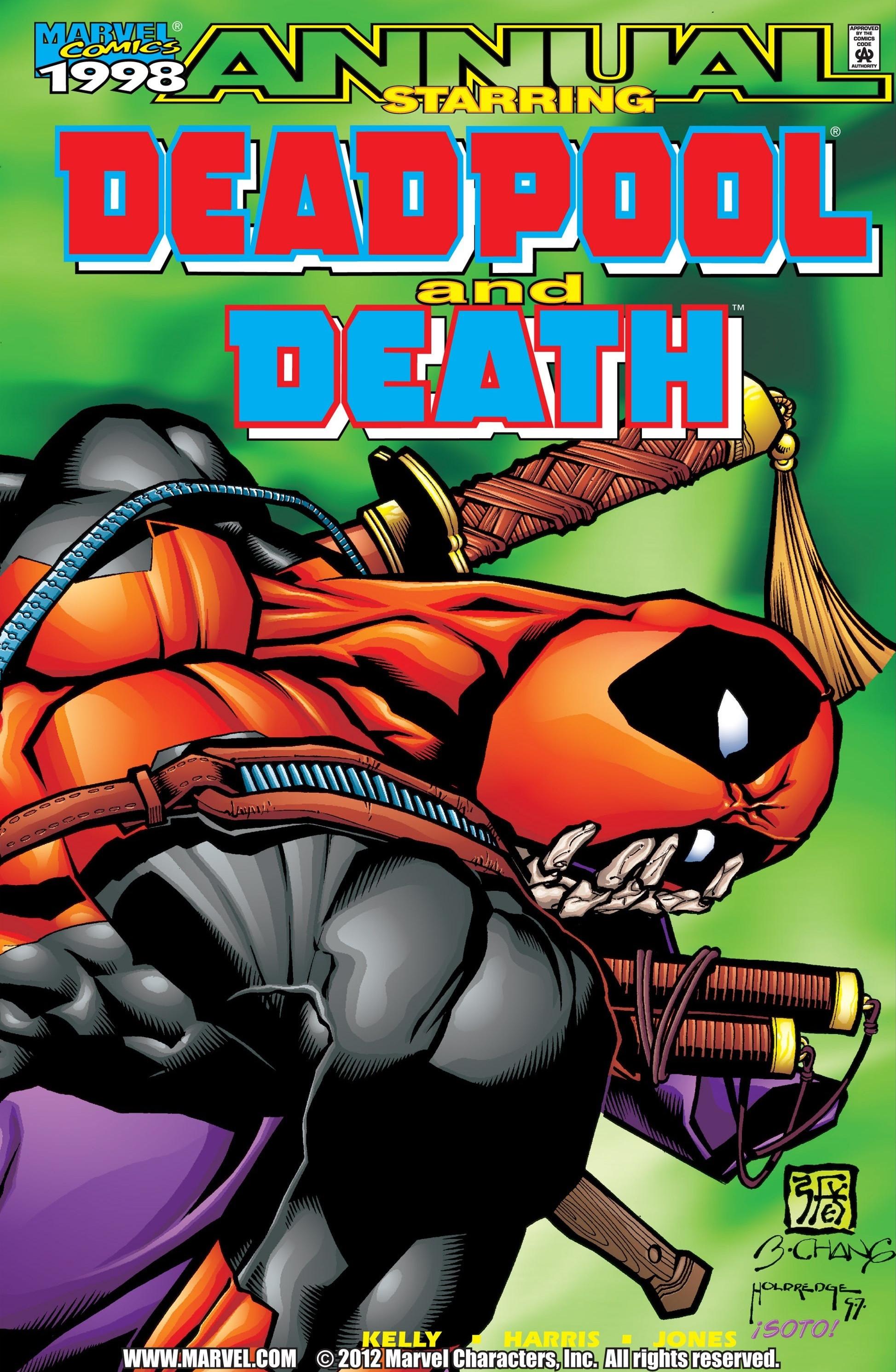 Deadpool and Death Annual Vol 1 1998