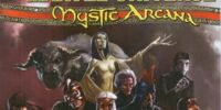 Official Handbook of the Marvel Universe Mystic Arcana: The Book of Marvel Magic Vol 1