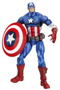Steven Rogers (Earth-1610) from Marvel Universe (Toys) Series I Wave II 0001