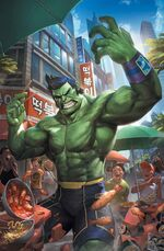 Totally Awesome Hulk Vol 1 1 Cheol Variant Textless