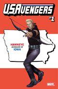 U.S.Avengers Vol 1 1 Iowa Variant