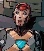Virginia Stark (Earth-12311) from Armor Wars Vol 1 1 001