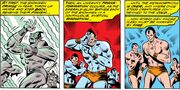 Chosen (Himalayan) changed to humans from Fantastic Four Vol 1 146