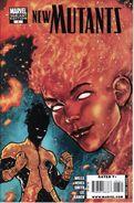 New Mutants Vol 3 3 Variant Pierfederici
