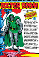 Doctor Doom Pin-Up from Amazing Spider-Man Annual Vol 1 1