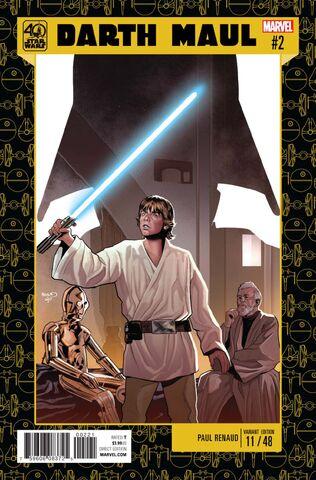 File:Star Wars Darth Maul Vol 1 2 Star Wars 40th Anniversary Variant.jpg