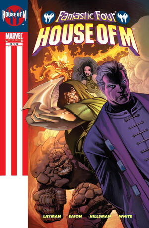 Fantastic Four House of M Vol 1 3