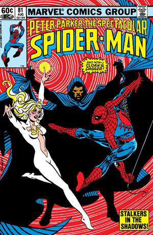 Peter Parker, The Spectacular Spider-Man Vol 1 81