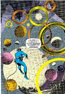 Reed Richards ventures intot he Negative Zone from Fantastic Four Vol 1 51