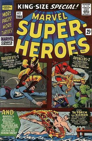 Marvel Super-Heroes King-Size Special Vol 1 1